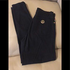 Moschino vintage black jeans